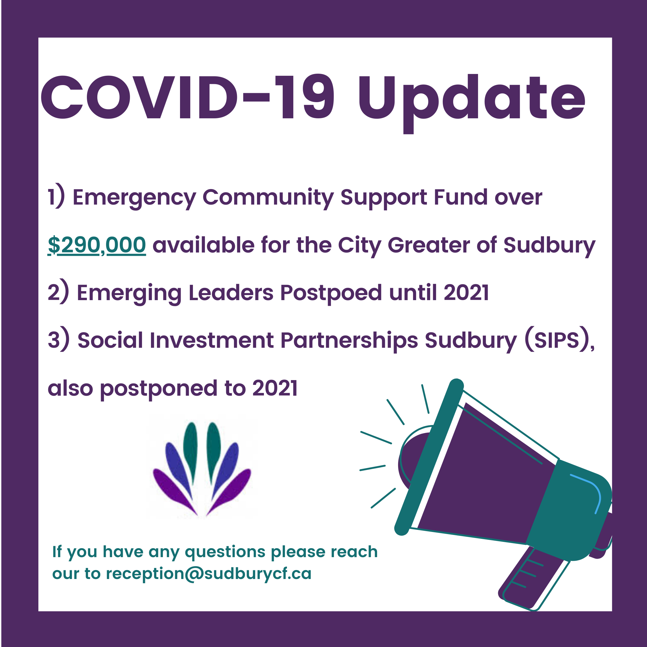 COVID 19 Update with SCF 2